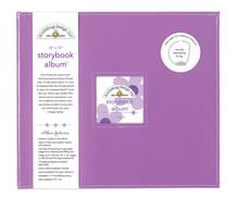 Doodlebug Design Inc. Lilac 12x12 Inch Storybook Album (5723)