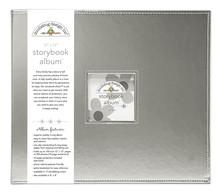 Doodlebug Design Inc. Silver 12x12 Inch Storybook Album (5725)