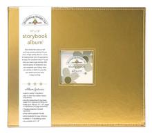 Doodlebug Design Inc. Gold 12x12 Inch Storybook Album (5726)