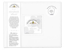 Doodlebug Design Inc. Lily White 8x8 Inch Storybook Album (5730)