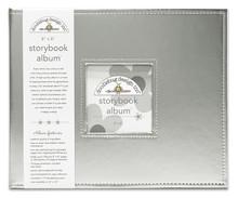 Doodlebug Design Inc. Silver 8x8 Inch Storybook Album (5731)