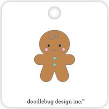 Doodlebug Design Inc. Gingerbread Man Collectible Pin (5772)