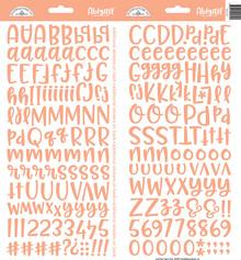 Doodlebug Design Inc. Coral Abigail Stickers (5810)
