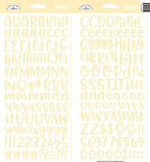 Doodlebug Design Inc. Bumblebee Abigail Stickers (5812)