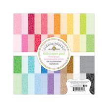 Doodlebug Design Inc. Floral-Graph Rainbow 6x6 Inch Petite Prints Paper Pad (6134)