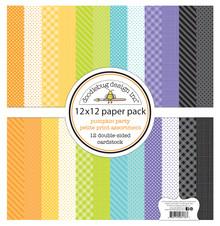 Doodlebug Design Inc. Pumpkin Party 12x12 Inch Petite Print Paper Pack (6176)