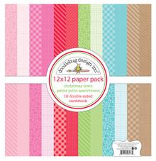 Doodlebug Design Inc. Christmas Town 12x12 Inch Petite Print Paper Pack (6177)