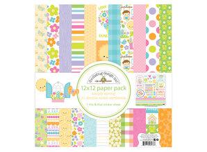 Doodlebug Design Inc. Simply Spring 12x12 Inch Paper Pack (6278)