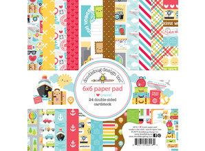 Doodlebug Design Inc. I Love Travel 6x6 Inch Paper Pad (6416)