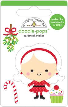 Doodlebug Design Inc. Mrs. Claus Doodle-Pops (3pcs) (6455)