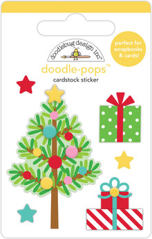 Doodlebug Design Inc. Trim the Tree Doodle-Pops (6pcs) (6459)