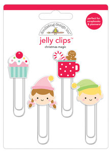 Doodlebug Design Inc. Christmas Magic Jelly Clips (4pcs) (6462)
