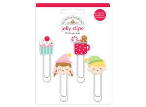 Doodlebug Design Inc. Christmas Magic Jelly Clips (4pcs) (6462)