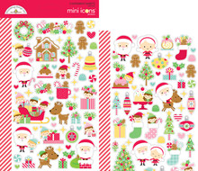 Doodlebug Design Inc. Christmas Magic Mini Icons Sticker (6471)