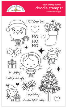 Doodlebug Design Inc. Christmas Magic Doodle Stamps (6477)