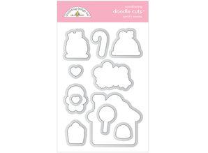 Doodlebug Design Inc. Santa's Sweets Doodle Cuts (6480)