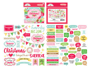 Doodlebug Design Inc. Christmas Magic Chit Chat (95pcs) (6527)