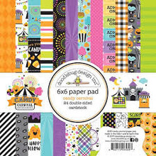 Doodlebug Design Inc. Candy Carnival 6x6 Inch Paper Pad (6530)