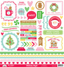 Doodlebug Design Inc. Christmas Magic This & That Stickers (6562)