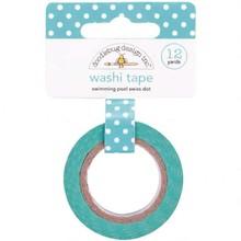 Doodlebug Design Inc. Swimming Pool Swiss Dot Washi Tape (3654)