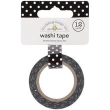 Doodlebug Design Inc. Beetle Black Swiss Dot Washi Tape (3659)