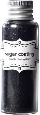 Doodlebug Design Inc. Beetle Black Sugar Coating Glitter (20g) (1488)