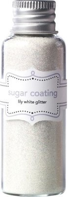 Doodlebug Design Inc. Lily White Sugar Coating Glitter (20g) (1486)