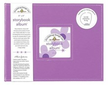 Doodlebug Design Inc. Lilac 8x8 Inch Storybook Album (5729)