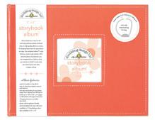 Doodlebug Design Inc. Coral 8x8 Inch Storybook Album (5727)