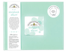 Doodlebug Design Inc. Mint 8x8 Inch Storybook Album (5728)