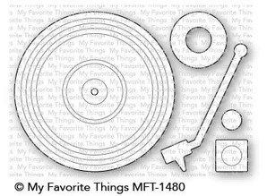 My Favorite Things Die-Namics Turntable (MFT-1480)