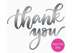 My Favorite Things Impressive Die-Namics Thank You (MFT-1659)