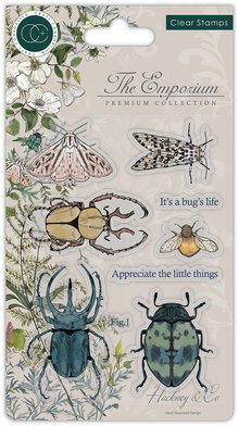 Craft Consortium The Emporium Beetles Clear Stamps (CCSTMP019)