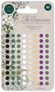 Craft Consortium The Emporium Enamel Dots (CCADOT005)