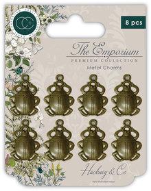 Craft Consortium The Emporium Beetles Charms (CCMCHRM009)
