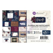 Prima Marketing Inc Darcelle 4x6 Inch Journaling Cards (642006)