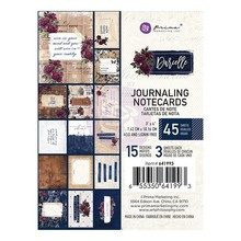 Prima Marketing Inc Darcelle 3x4 Inch Journaling Cards (641993)