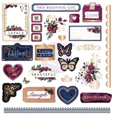 Prima Marketing Inc Darcelle Ephemera & Stickers (642037)