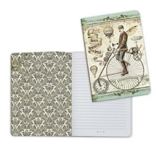 Stamperia Notebook A5 Voyages Fantastiques Bicycle (ENBA5004)