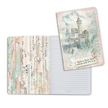 Stamperia Notebook A5 Wonderland Fantasy Castle (ENBA5007)