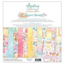 Mintay Forever Young 12x12 Inch Scrapbooking Paper Set (MT-FOR-07)
