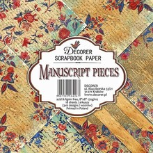 Decorer Manuscript Pieces 8x8 Inch Paper Pack (DECOR-B28-426)