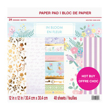 Craft Smith In Bloom 12x12 Inch Paper Pad (MSE5203)
