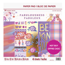 Craft Smith Fabulousness 12x12 Inch Paper Pad (MSE5208)