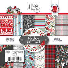 LDRS Creative Christmas Cottage 6x6 Inch Paper Pack (LDRS3171)