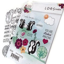 LDRS Creative Stinkin Amazing Rubber Stamps (3123)