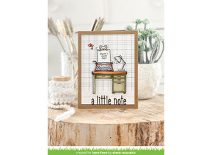 Lawn Fawn You're Just My Type Clear Stamps (LF2165)