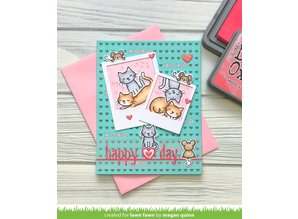Lawn Fawn Love Poems Clear Stamps (LF2167)