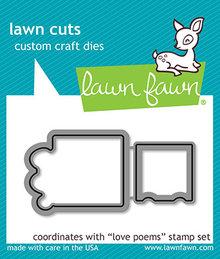 Lawn Fawn Love Poems Dies (LF2168)