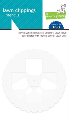 Lawn Fawn Reveal Wheel Templates: Square (LF2172)